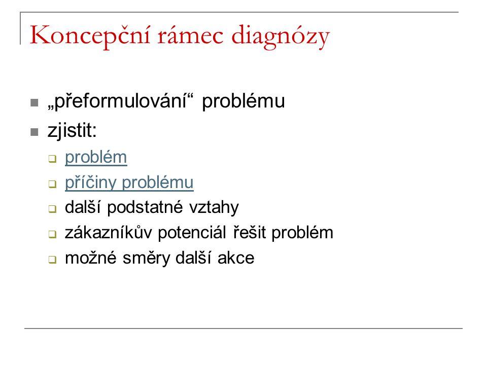 Koncepční rámec diagnózy
