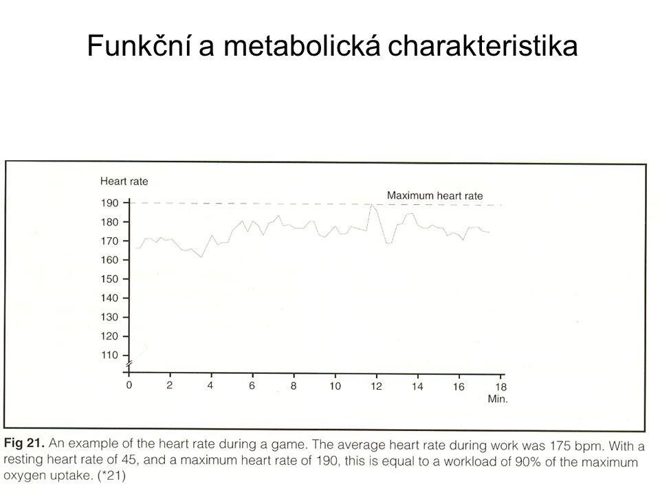 Funkční a metabolická charakteristika