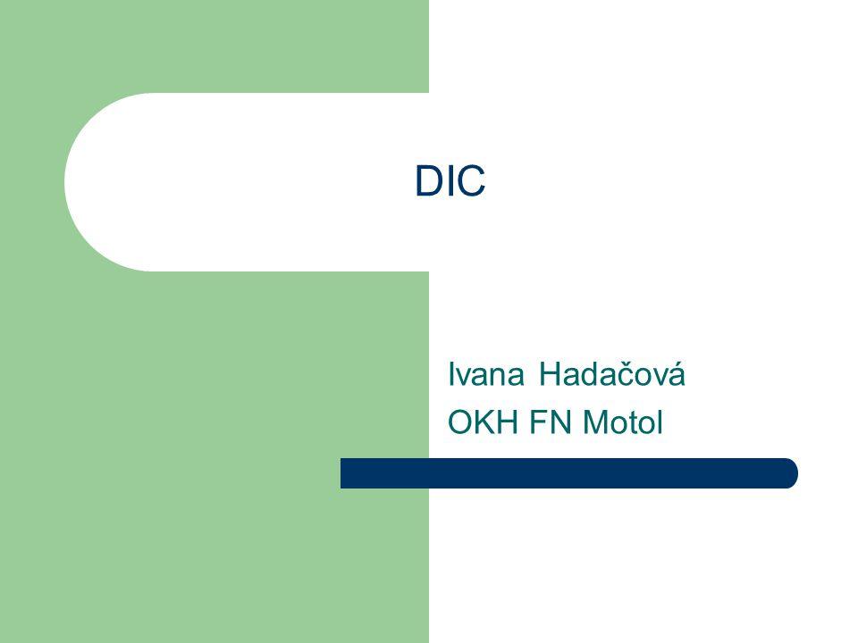 Ivana Hadačová OKH FN Motol