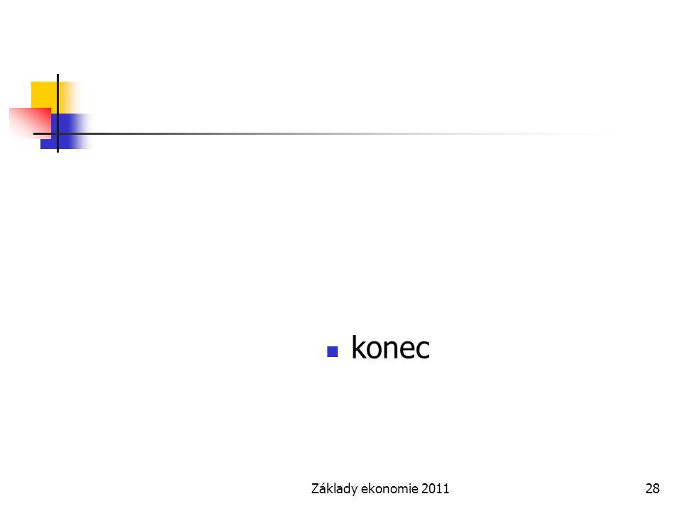 konec Základy ekonomie 2011
