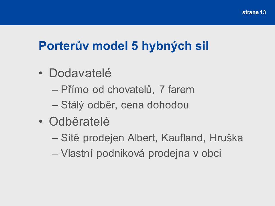 Porterův model 5 hybných sil