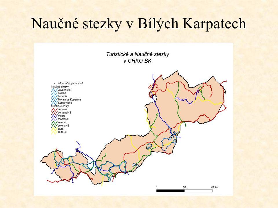 Naučné stezky v Bílých Karpatech