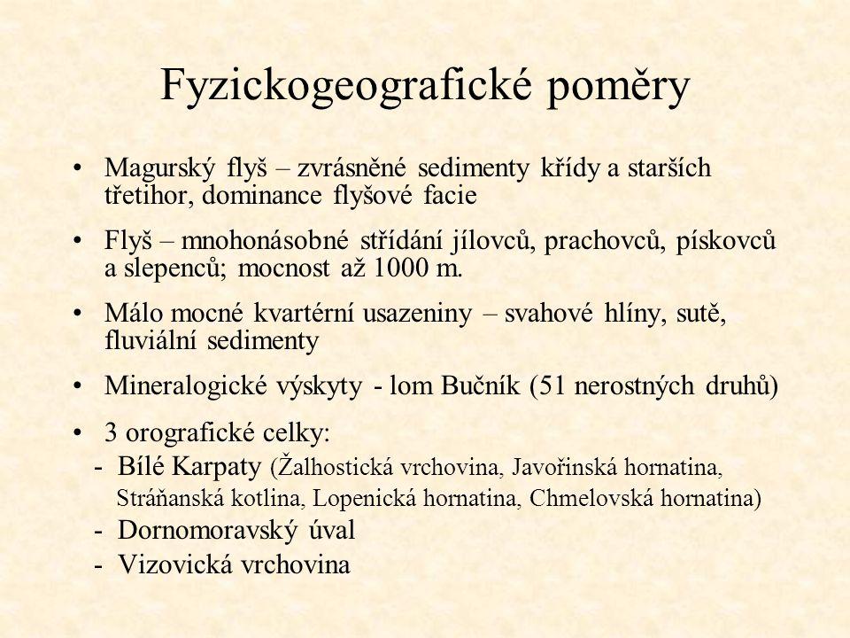 Fyzickogeografické poměry