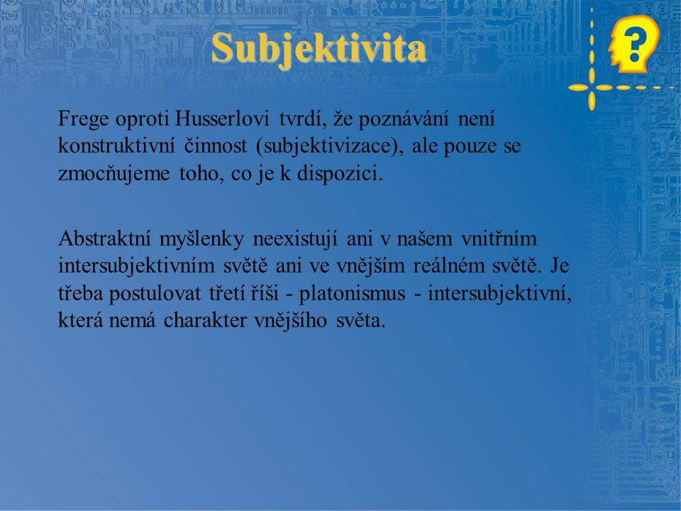 Subjektivita