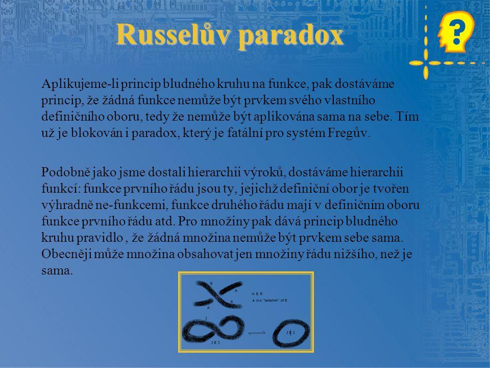 Russelův paradox