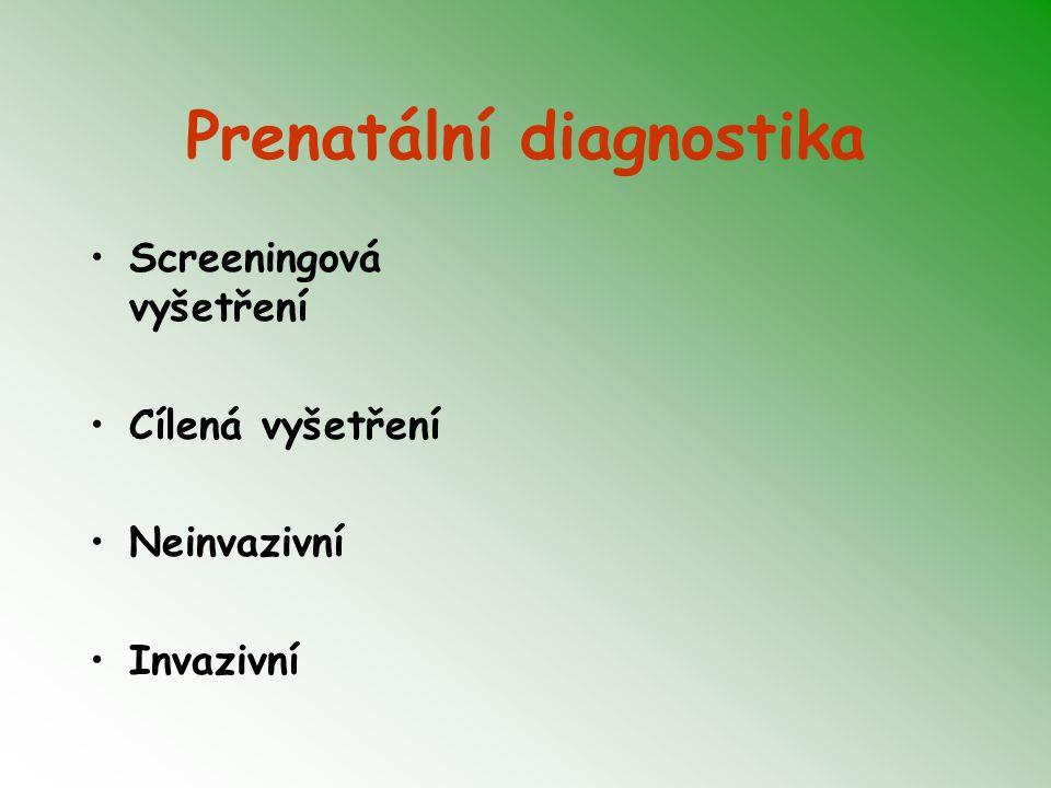 Prenatální diagnostika