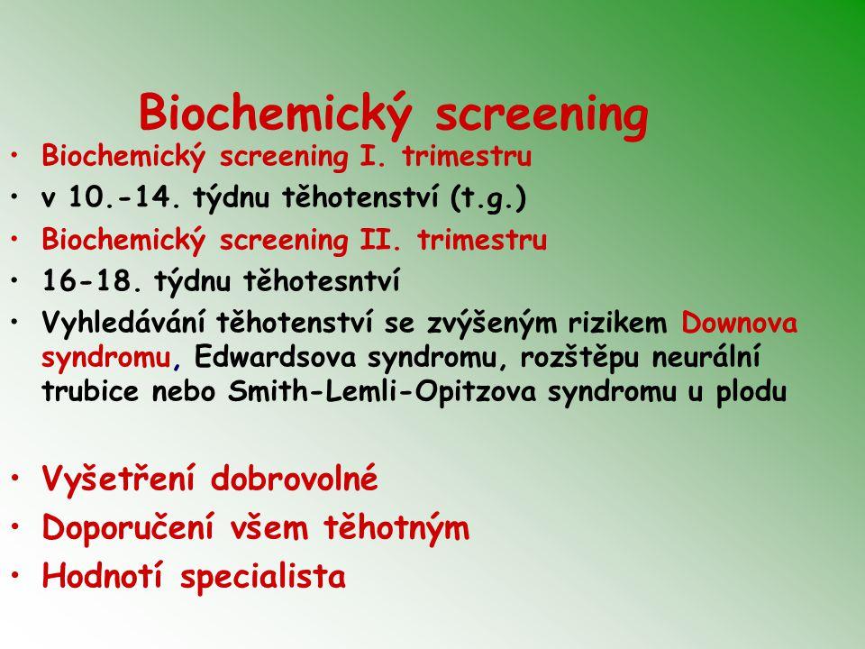 Biochemický screening