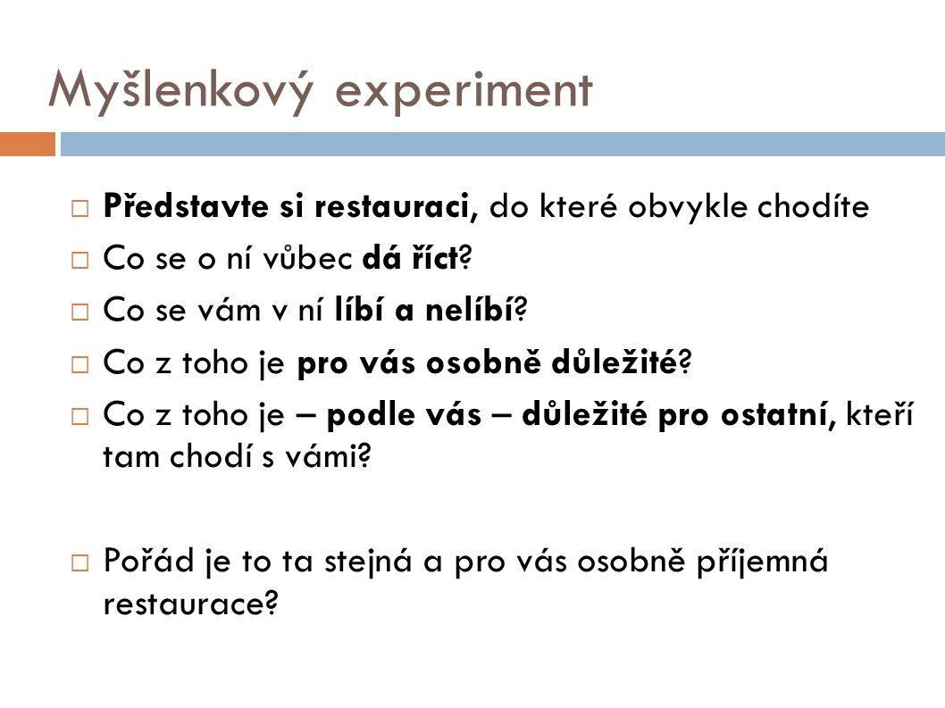 Myšlenkový experiment
