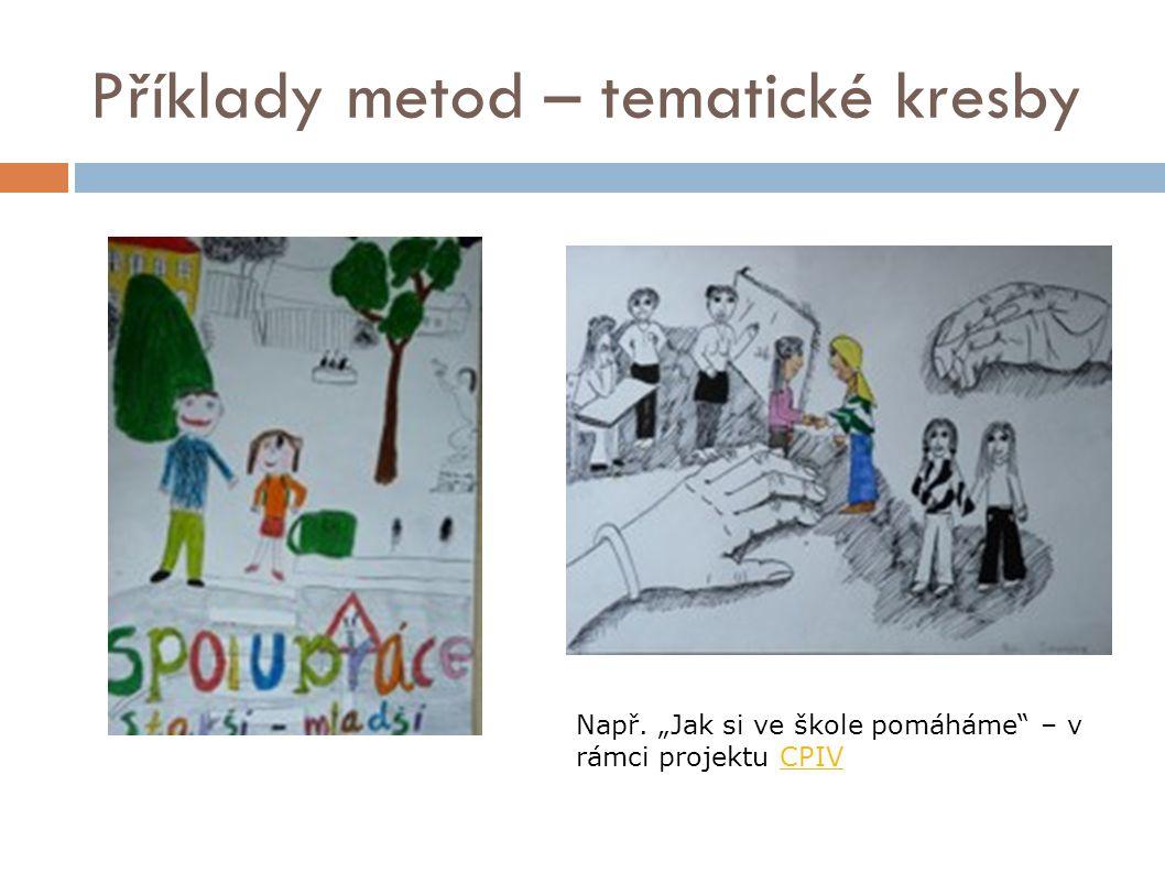 Příklady metod – tematické kresby