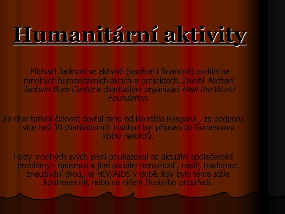 Humanitární aktivity