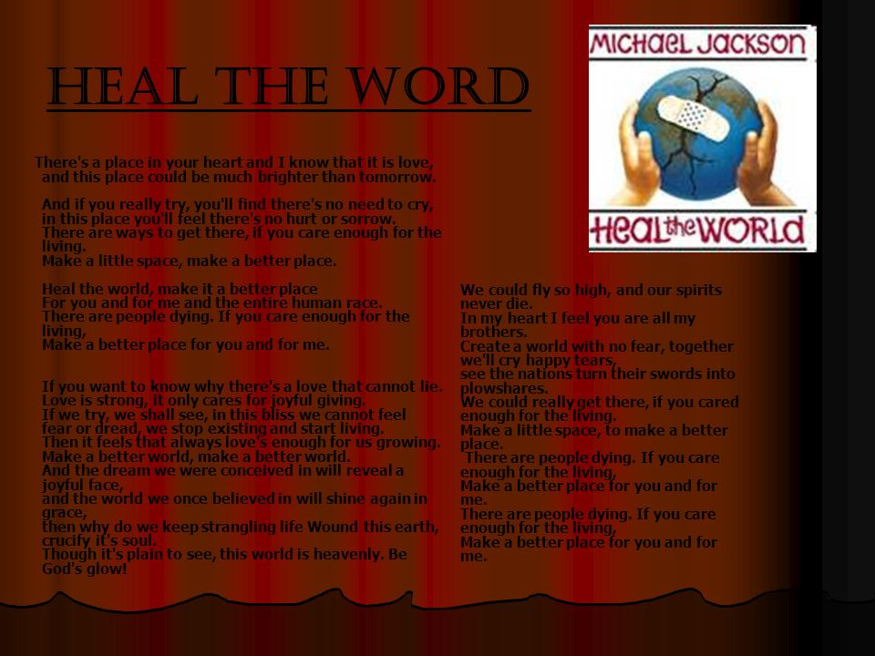 Heal the Word