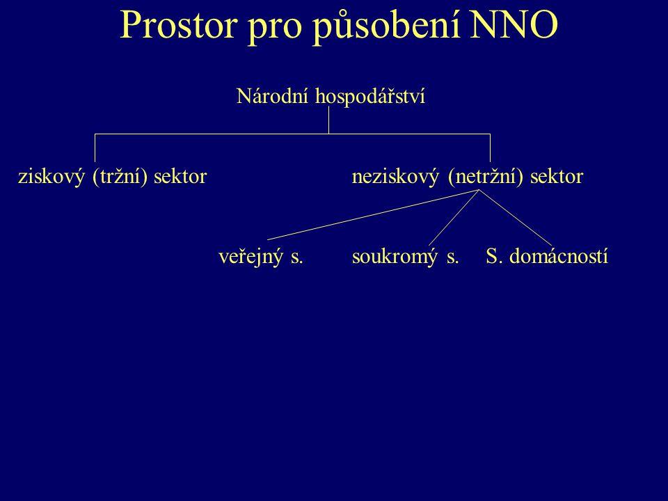 Prostor pro působení NNO