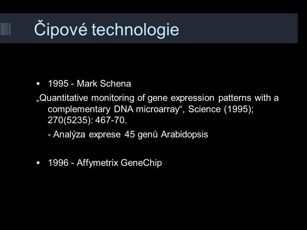 Čipové technologie 1995 - Mark Schena