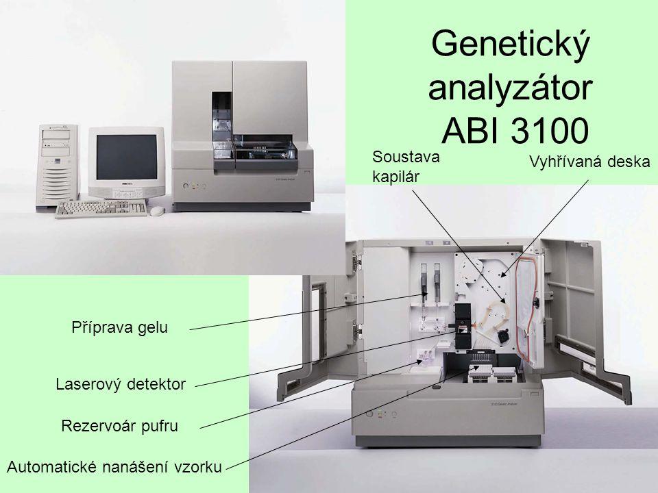 Genetický analyzátor ABI 3100