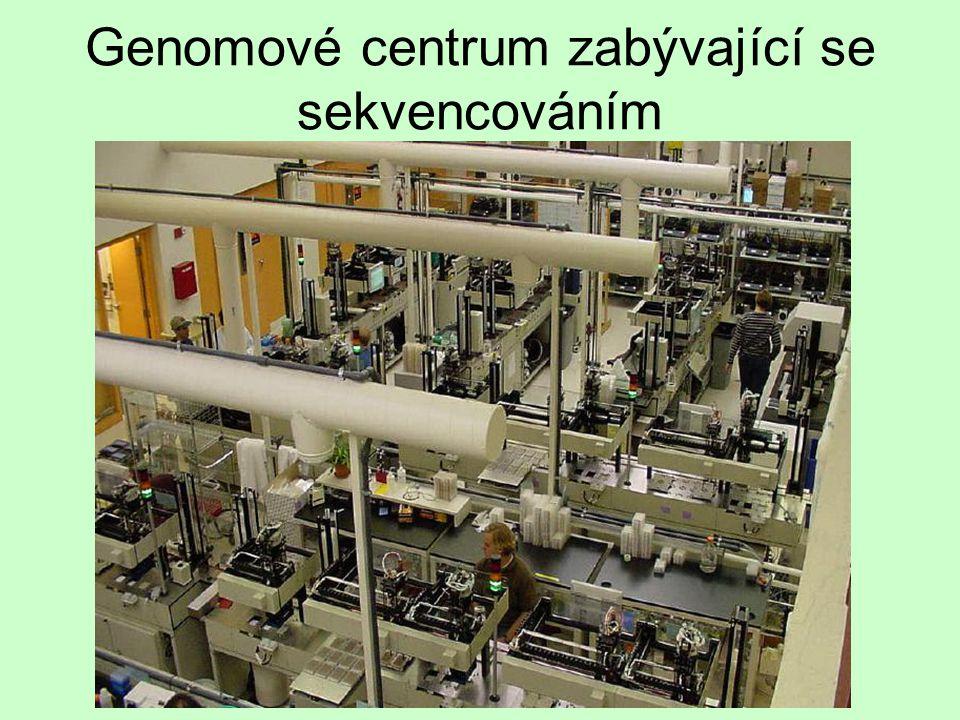 Genomové centrum zabývající se sekvencováním