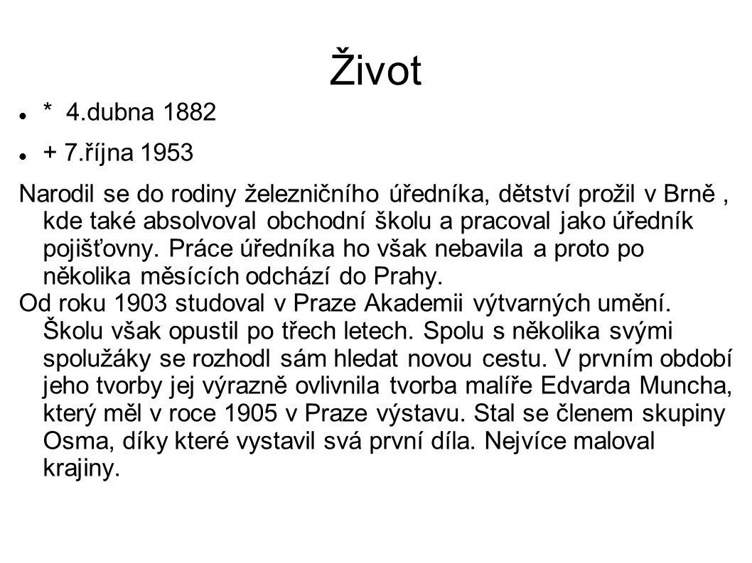 Život * 4.dubna 1882. + 7.října 1953.