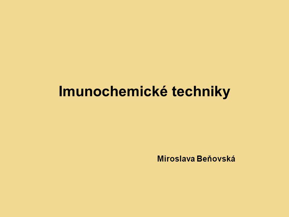 Imunochemické techniky