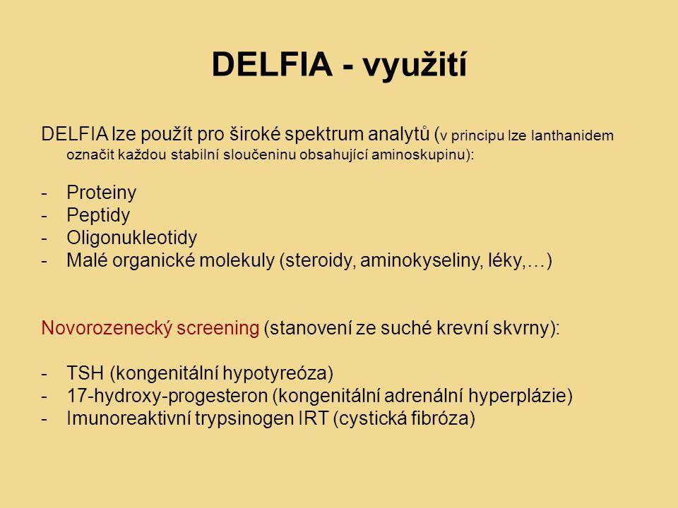 DELFIA - využití