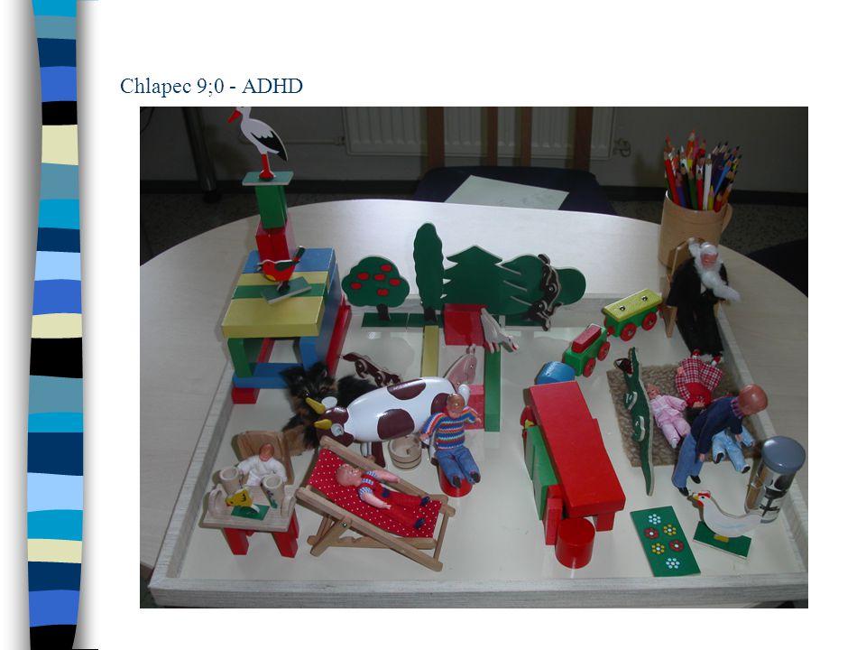 Chlapec 9;0 - ADHD