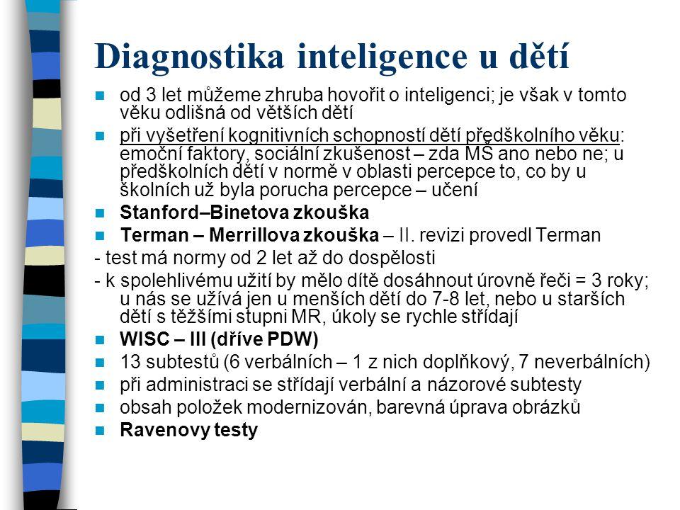 Diagnostika inteligence u dětí