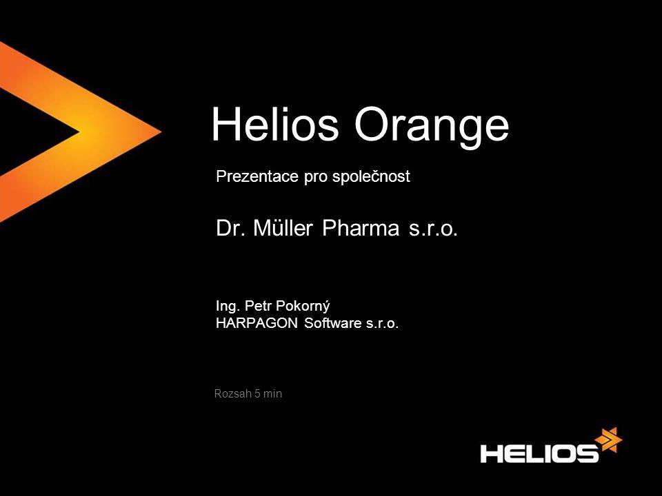 Helios Orange Dr. Müller Pharma s.r.o. Prezentace pro společnost
