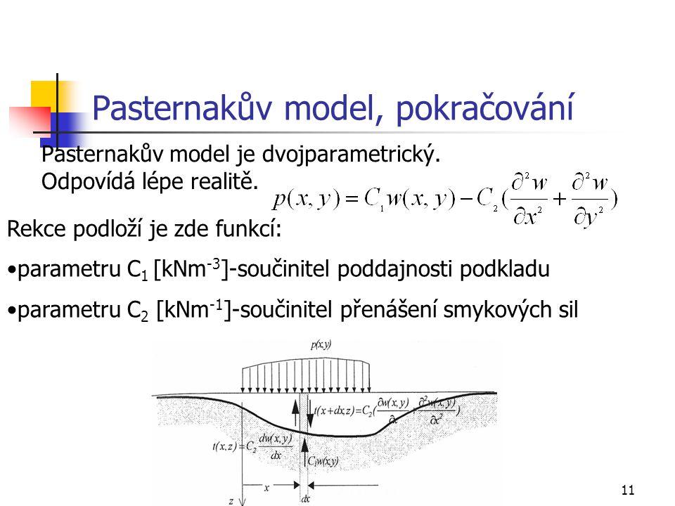 Pasternakův model, pokračování