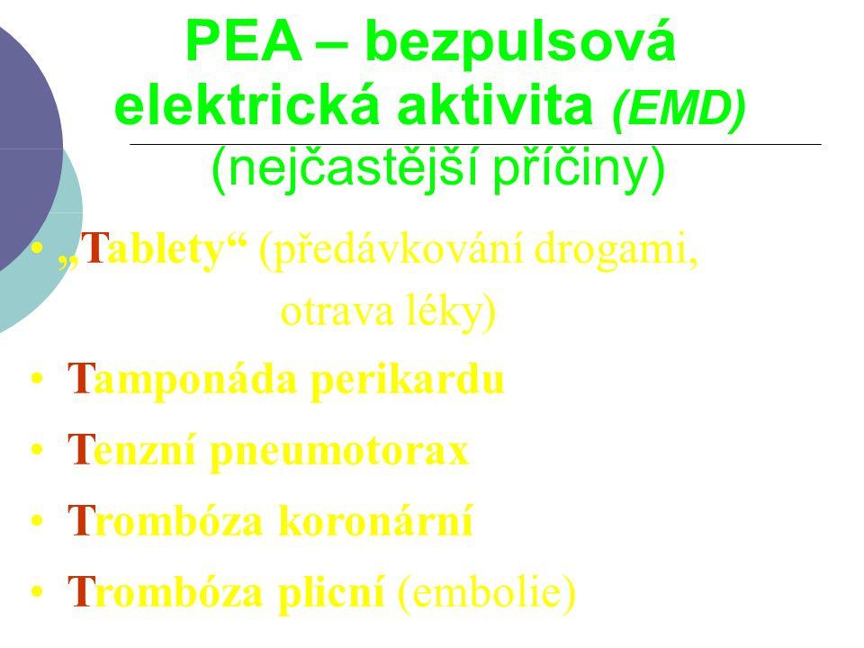 elektrická aktivita (EMD)