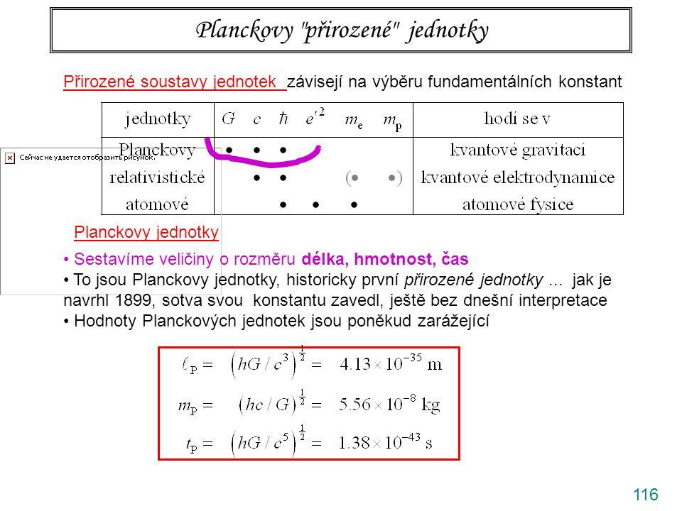 Planckovy přirozené jednotky
