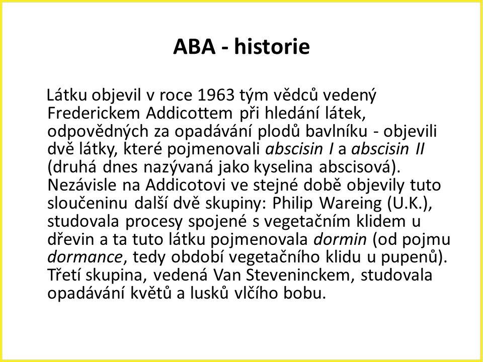 ABA - historie