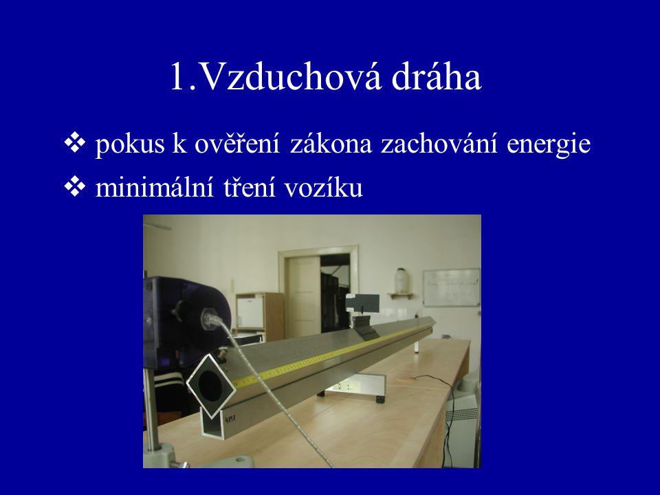 pokus k ověření zákona zachování energie