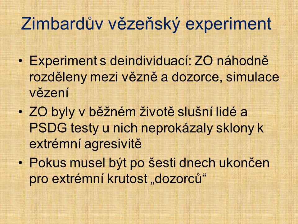 Zimbardův vězeňský experiment