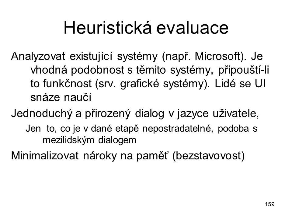 Heuristická evaluace