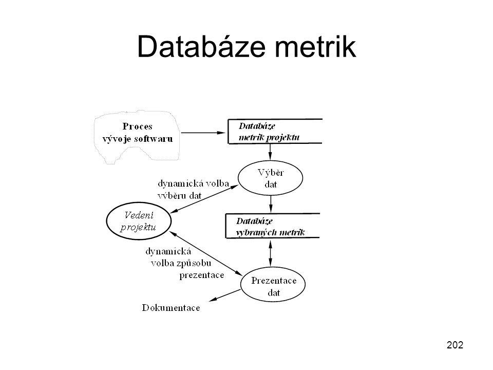 Databáze metrik