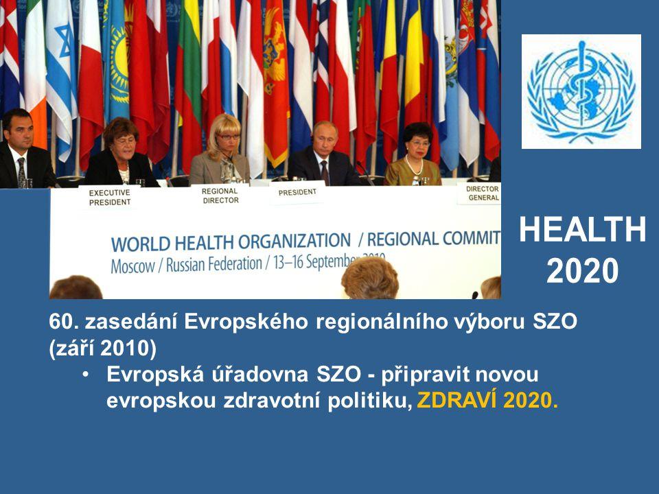 HEALTH 2020. 60. zasedání Evropského regionálního výboru SZO (září 2010)