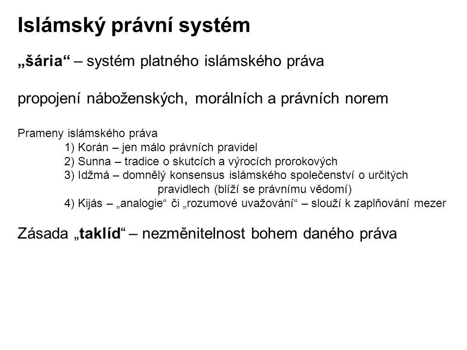 Islámský právní systém