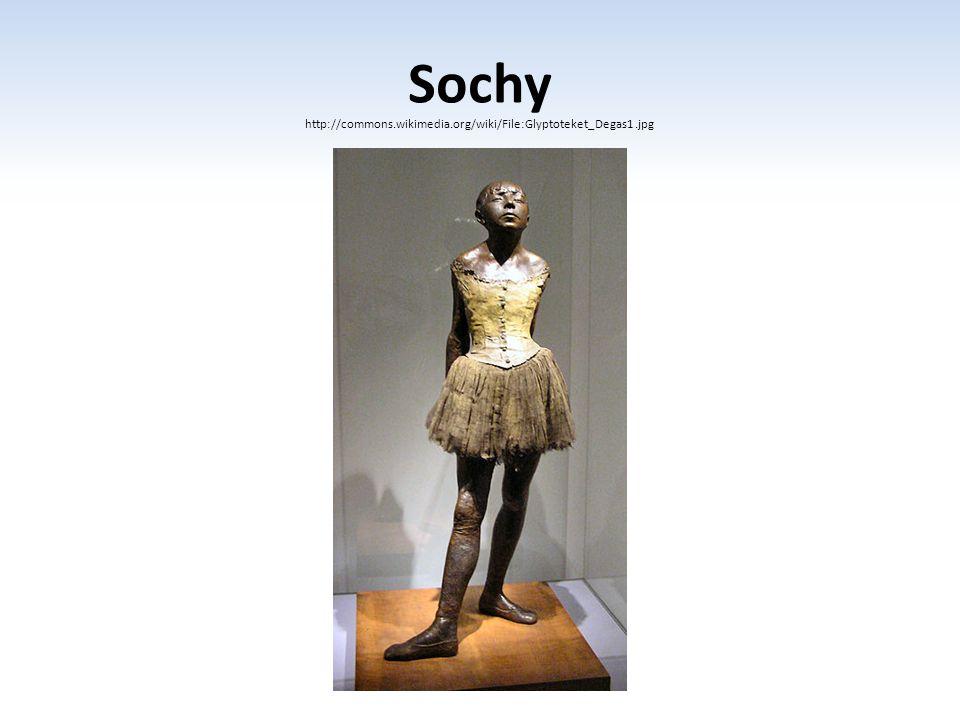 Sochy http://commons.wikimedia.org/wiki/File:Glyptoteket_Degas1.jpg