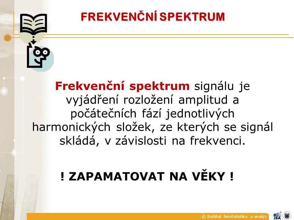 Frekvenční spektrum