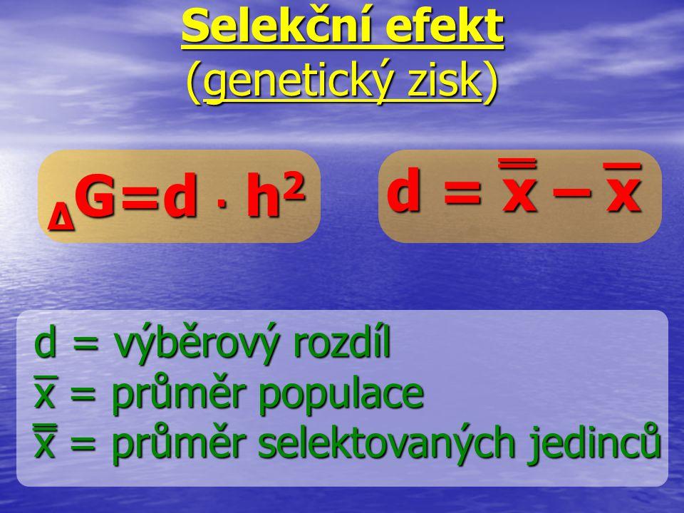Selekční efekt (genetický zisk)