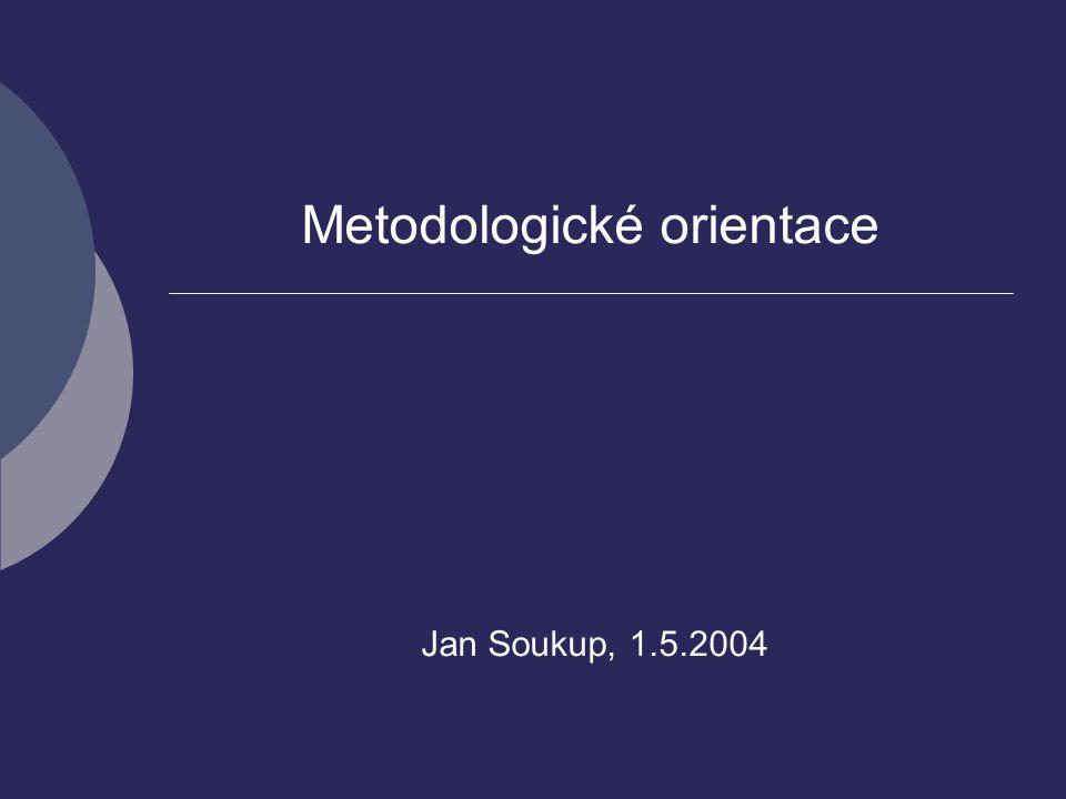 Metodologické orientace