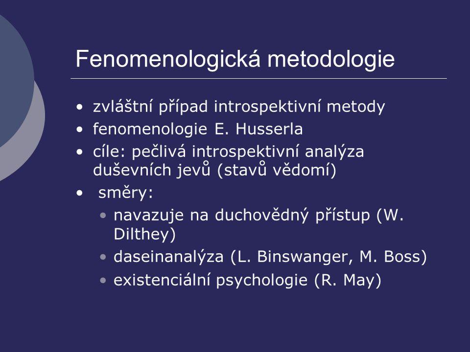 Fenomenologická metodologie