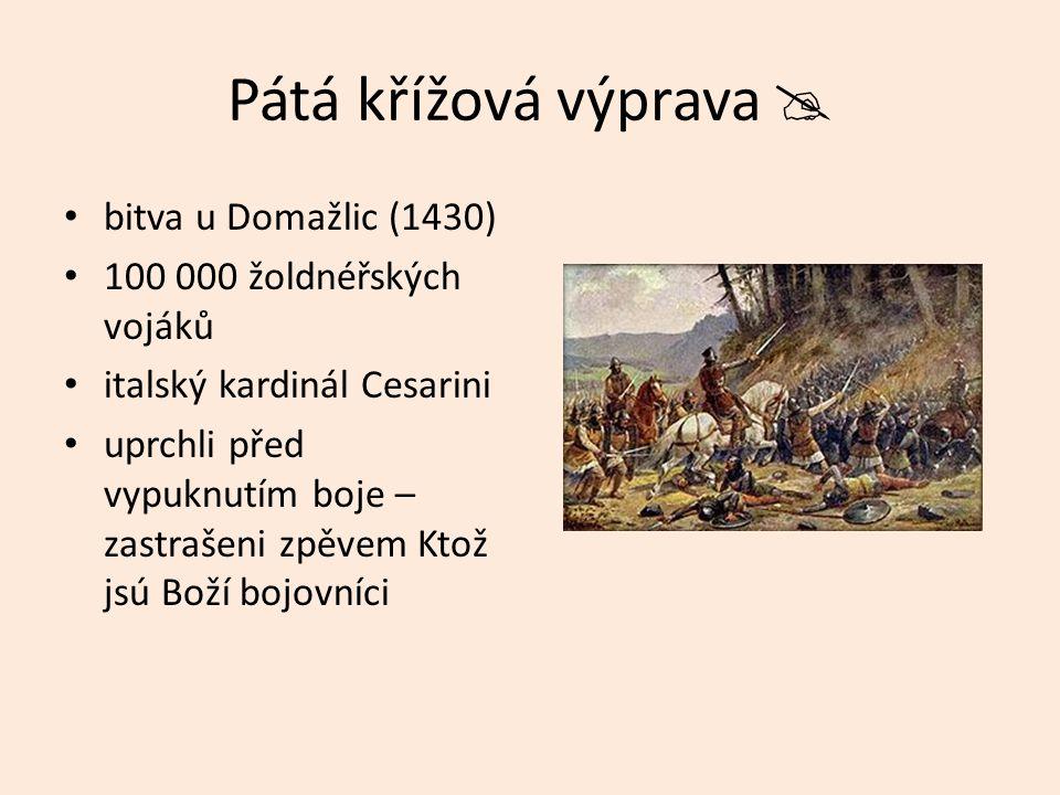 Pátá křížová výprava  bitva u Domažlic (1430)