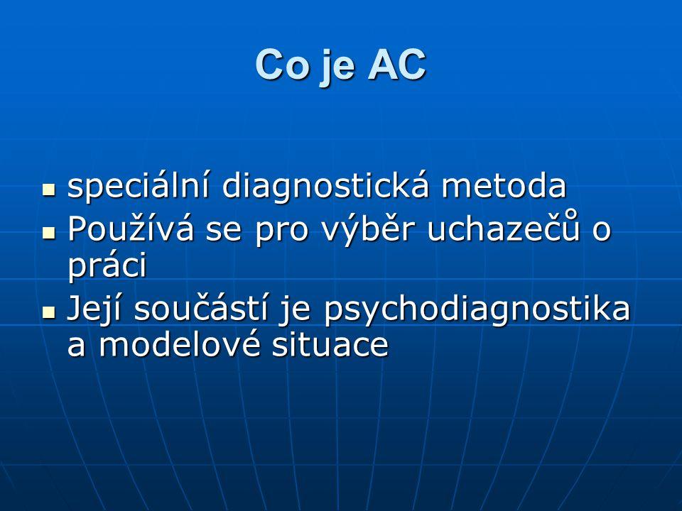 Co je AC speciální diagnostická metoda