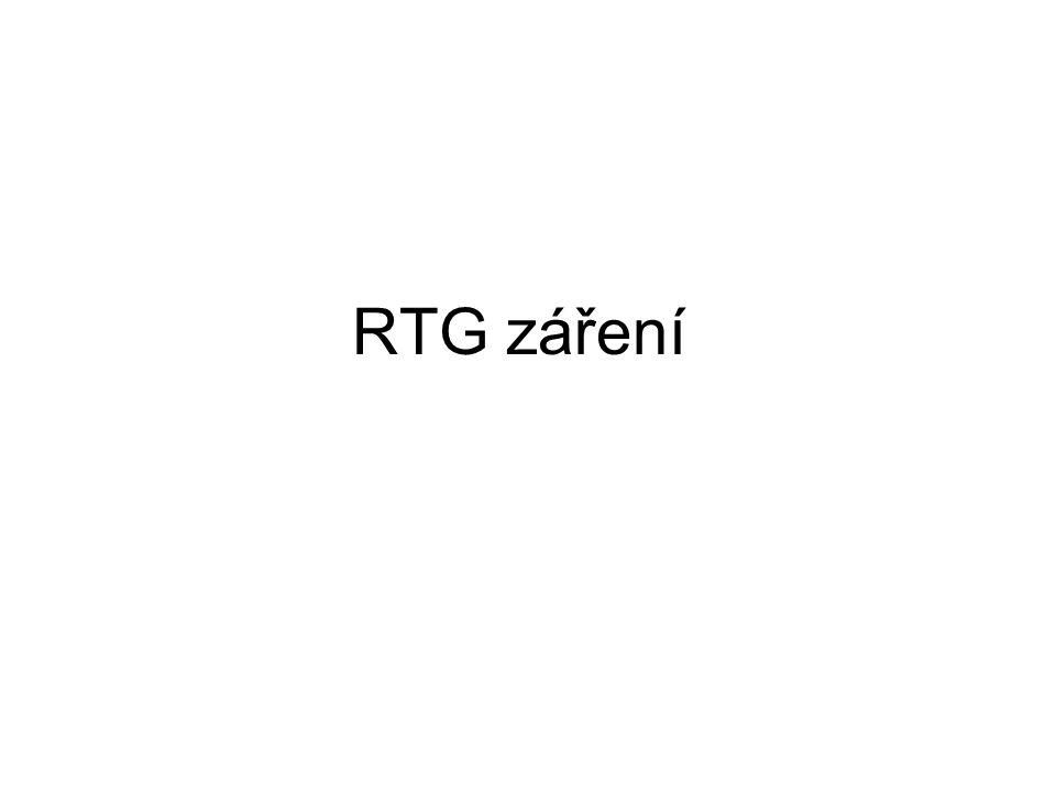 RTG záření