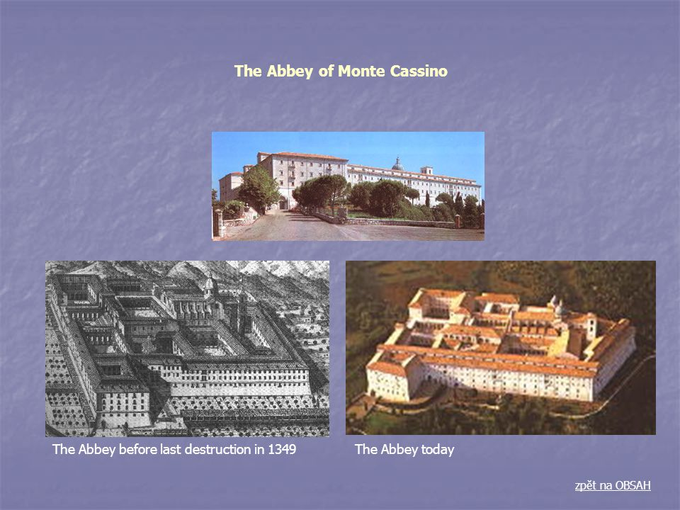 The Abbey of Monte Cassino
