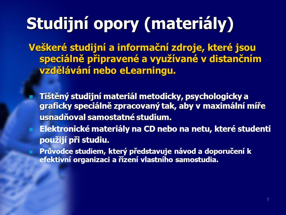 Studijní opory (materiály)