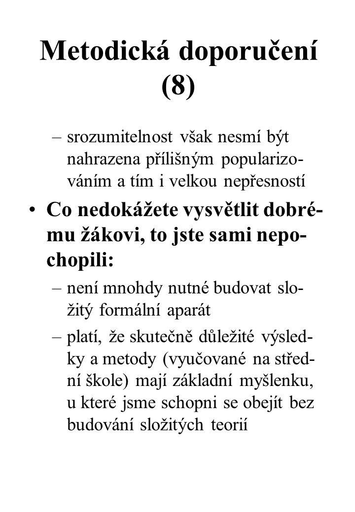 Metodická doporučení (8)