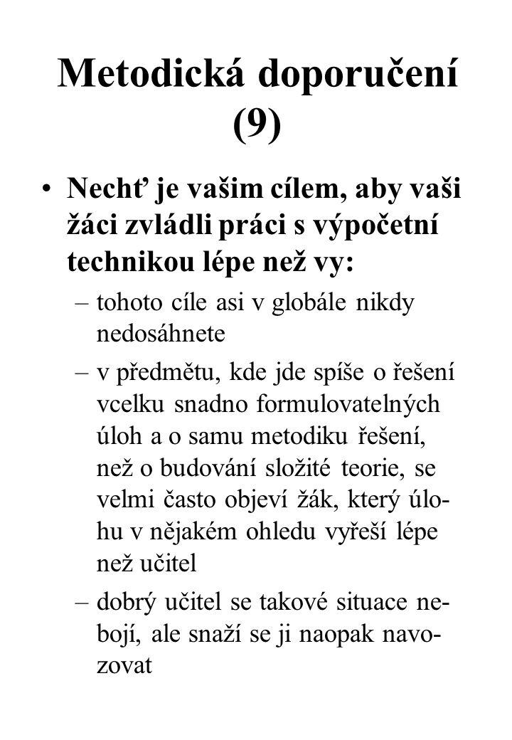 Metodická doporučení (9)