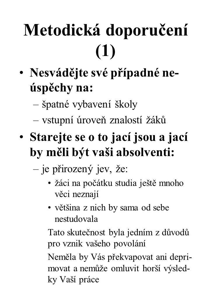 Metodická doporučení (1)