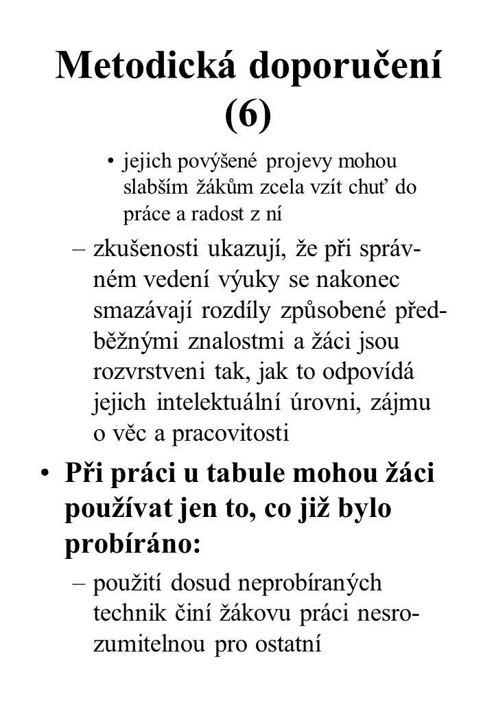 Metodická doporučení (6)