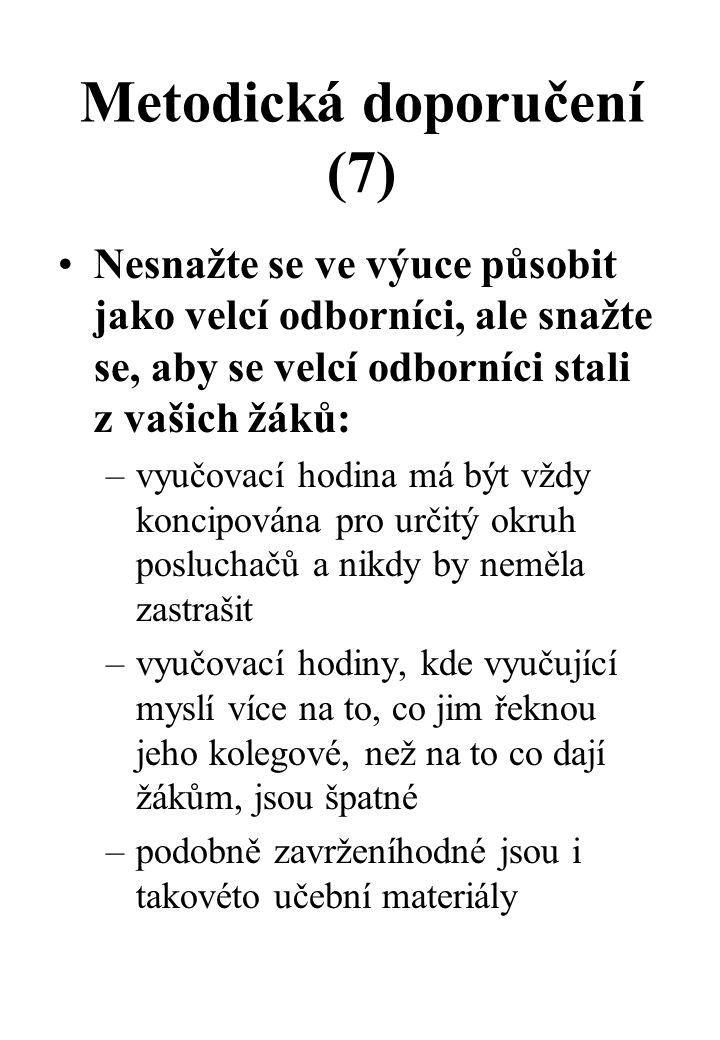 Metodická doporučení (7)